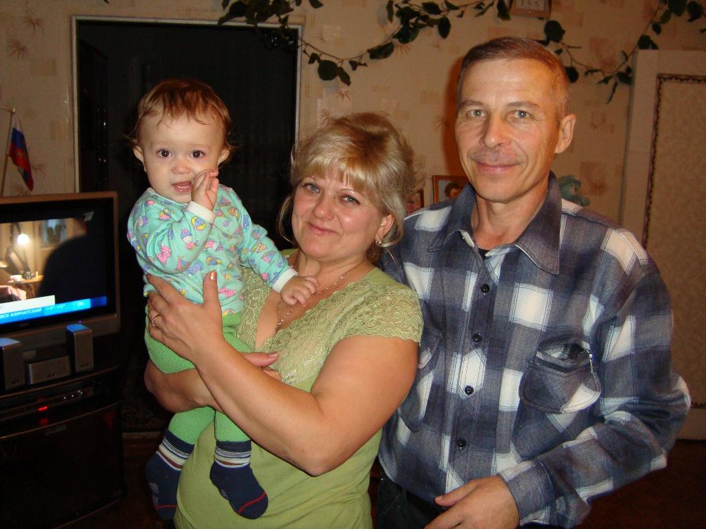 Я самый любимый внучек, а любимый,потому что ЕДИНСТВЕННЫЙ!!!. Стар и мал