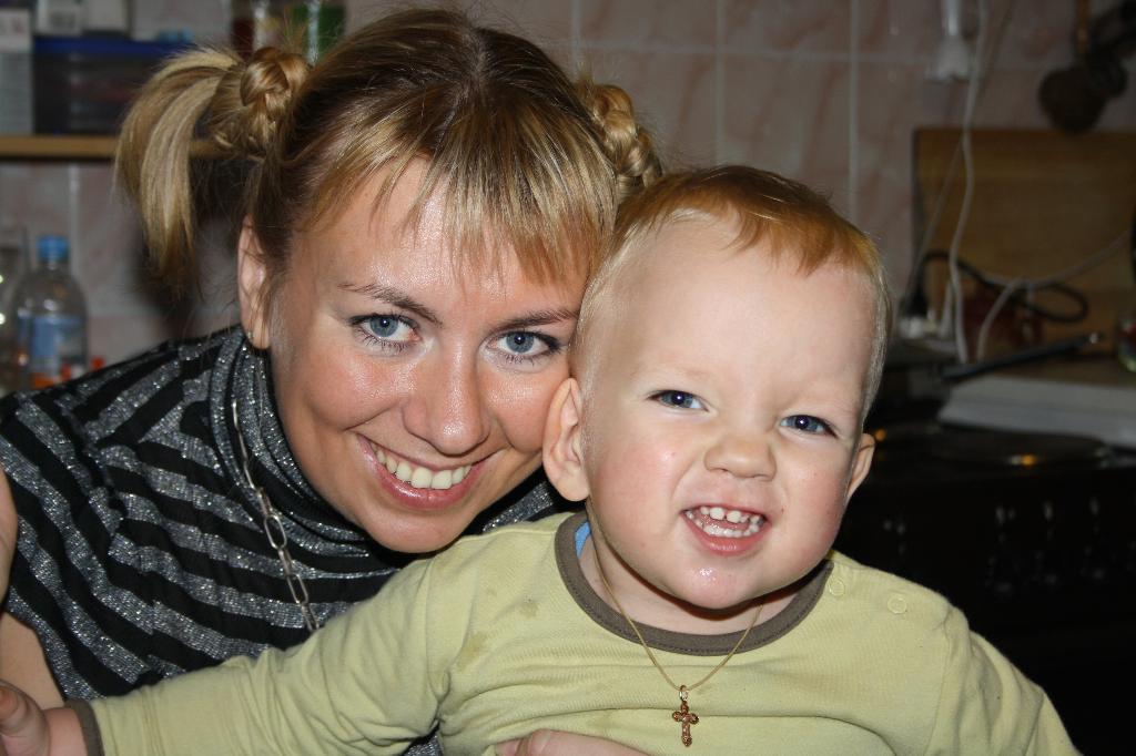 День рождения.. Вместе с мамой