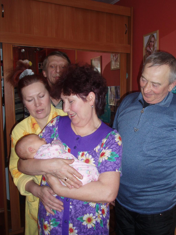 Единственная любимая внучка!!!. Стар и мал