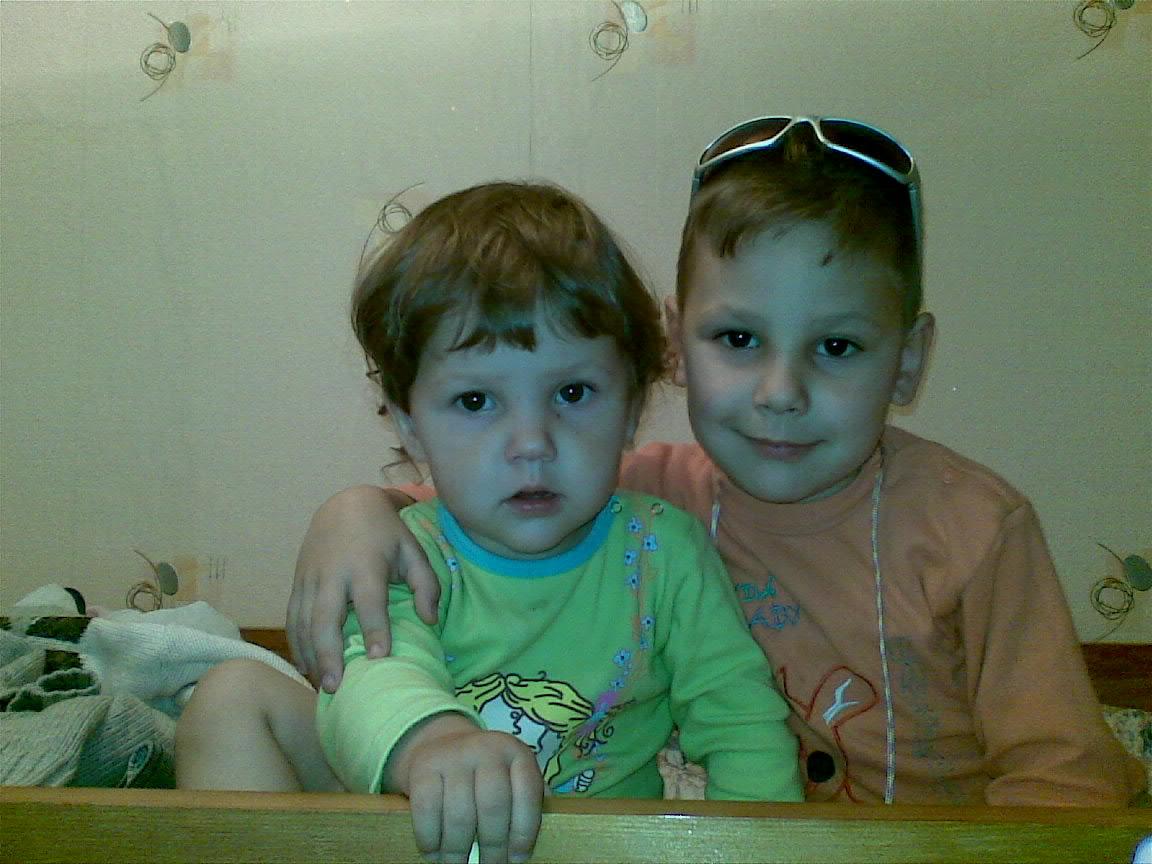Мои детки (Егор и Настена). Детские портреты