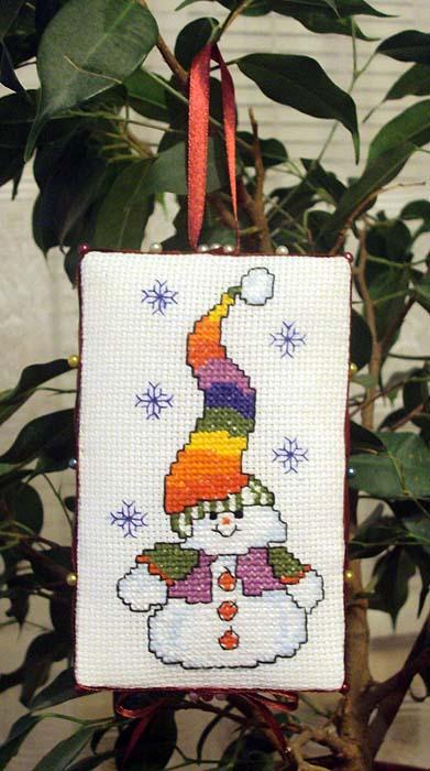 Юлия, мама - fi для Валюши, мама Ри-Ри. 2009 Детский Новогодний проект
