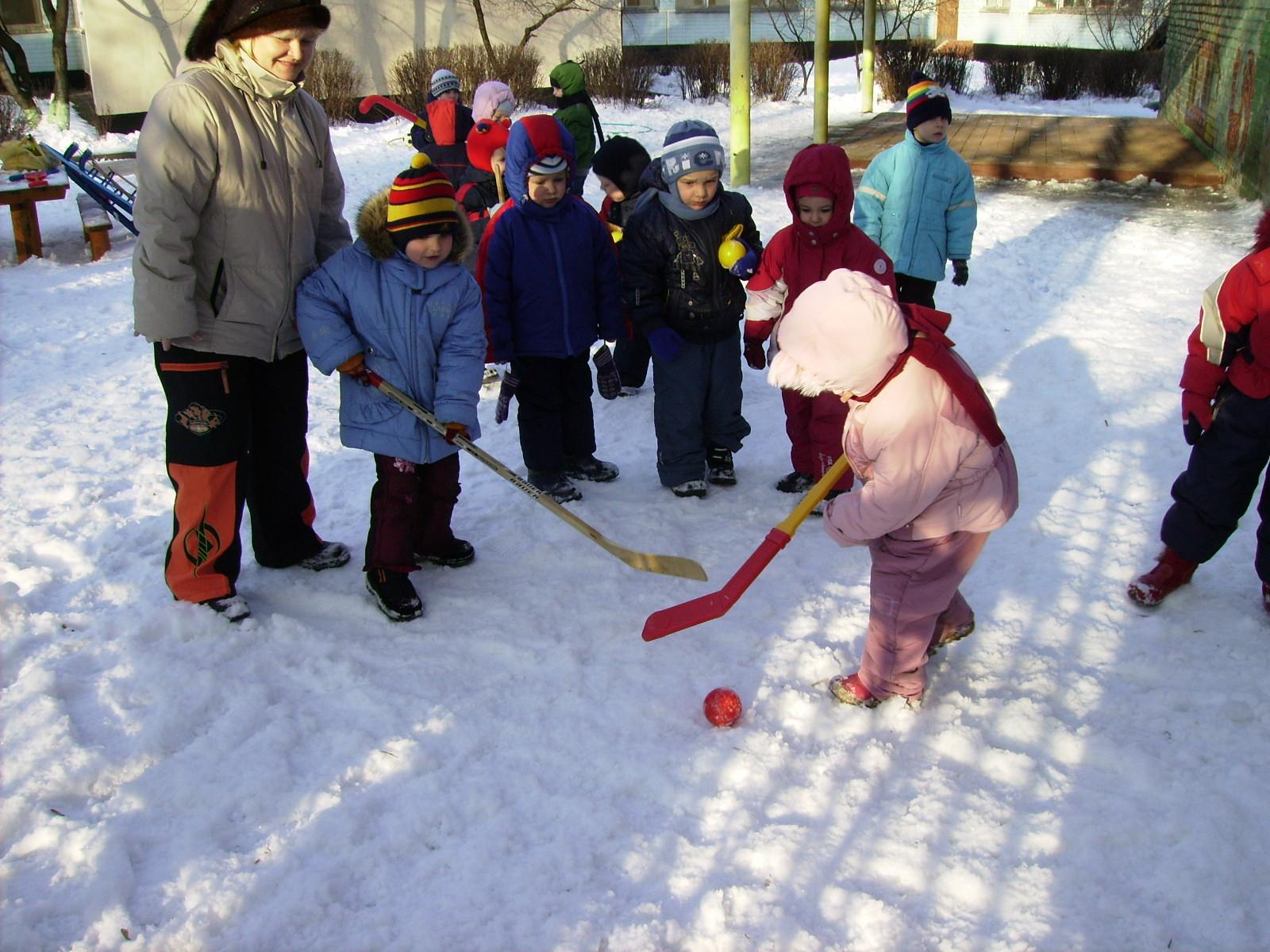Кто сказал, что хоккей для мальчиков?. Мой любимый детский сад