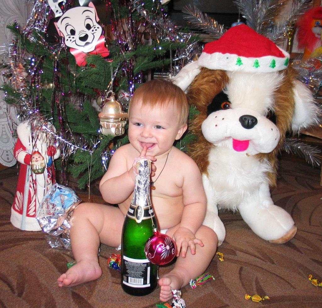 С Новым годом, друзья!!!. Малыши