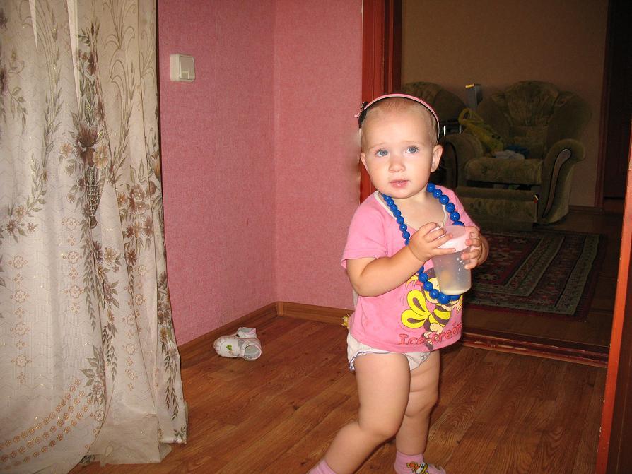 На подиуме - Екатерина!!!. Маленькая модель