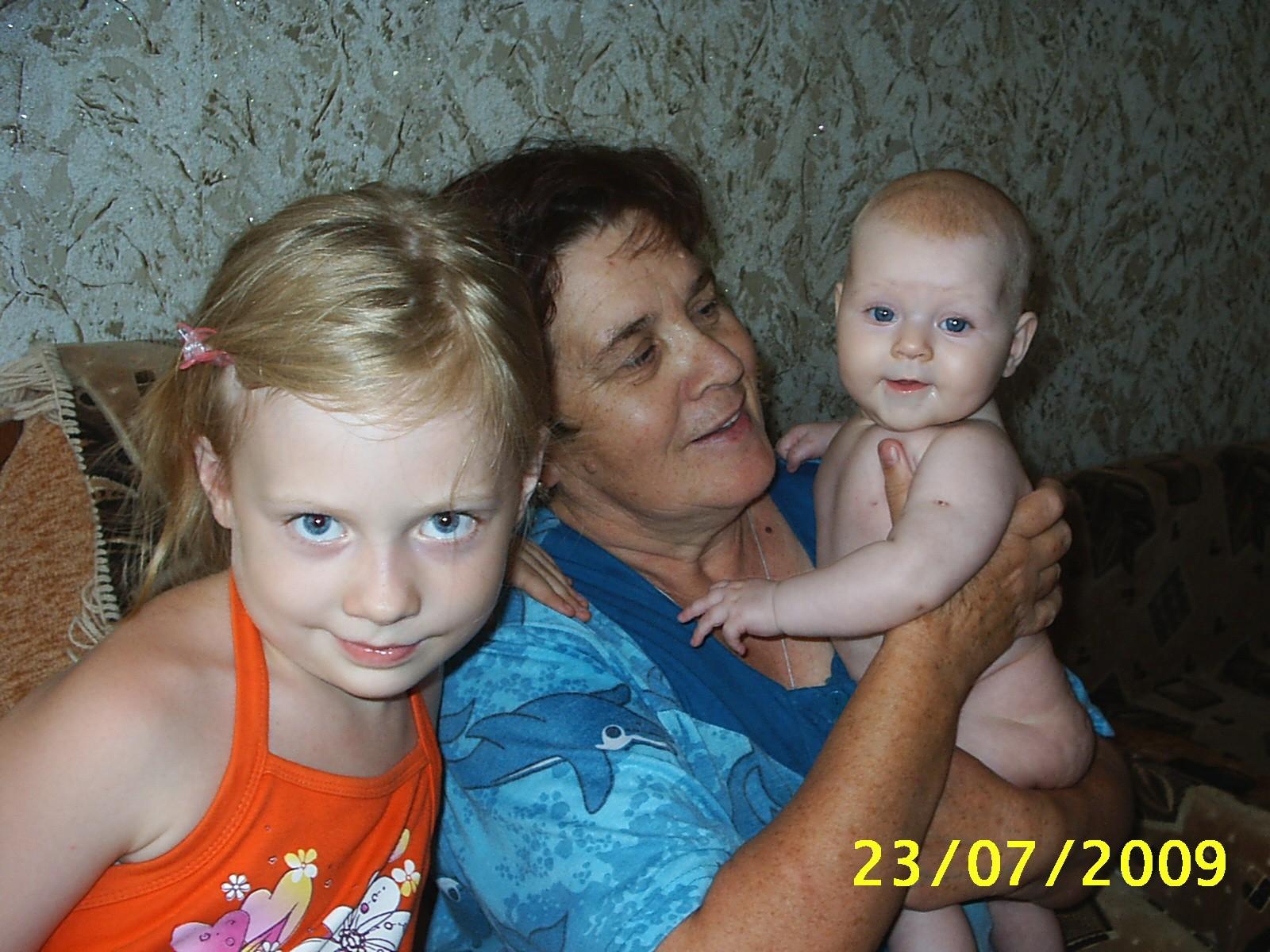 К бабушке мы любим ходить!!!. Стар и мал
