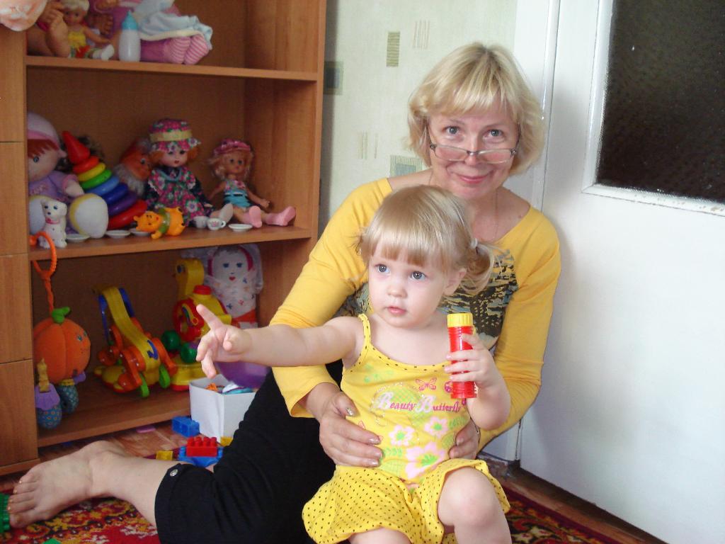 Я и моя бабулечка, красотулечка!. Стар и мал