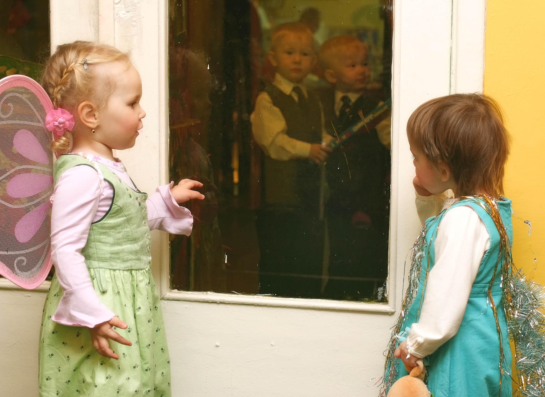Зазеркалье.. Мой любимый детский сад