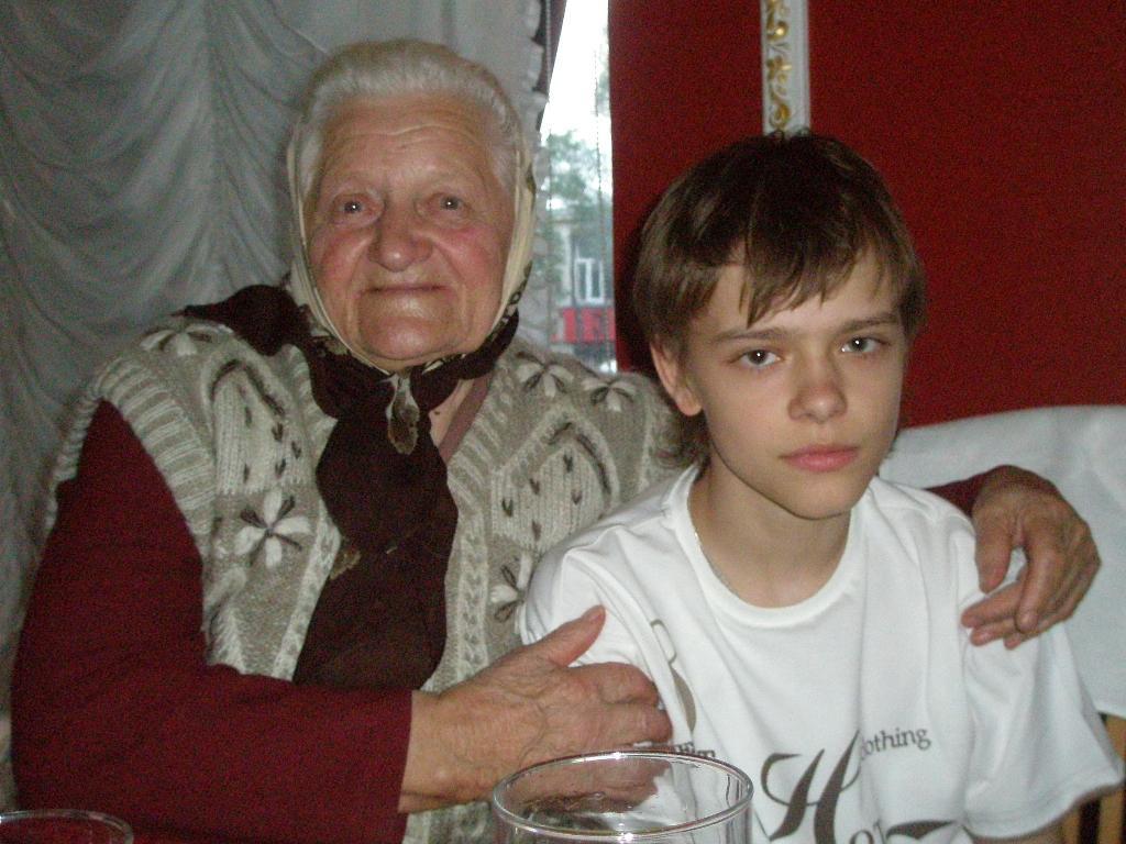моя прабабушка. Стар и мал