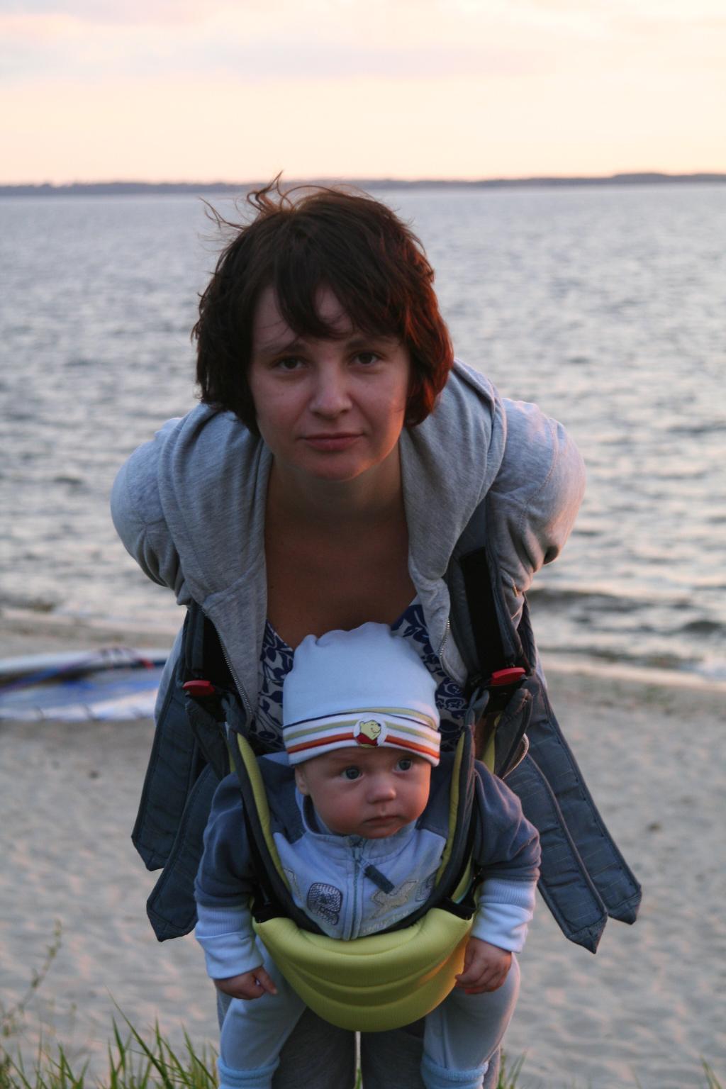 Я и малыш наш Федор.. Мадонна с младенцем