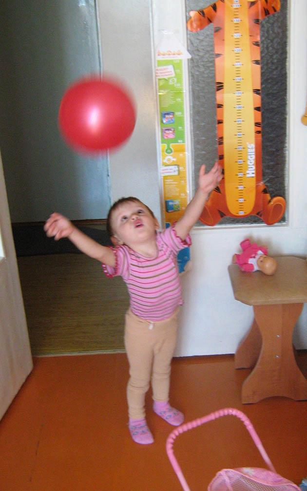 Разминка с мячом!. Олимпийцами становятся с рождения