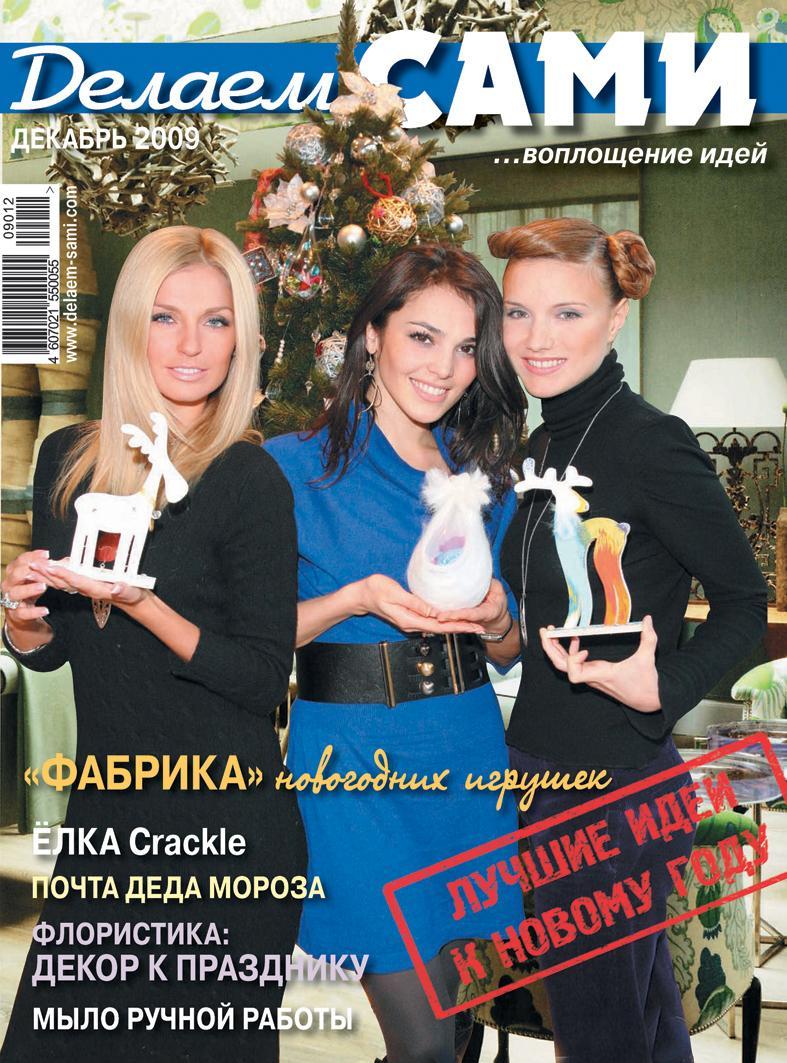 Журнал 'Делаем сами'. Конкурс на лучшую новогоднюю обложку — 2010