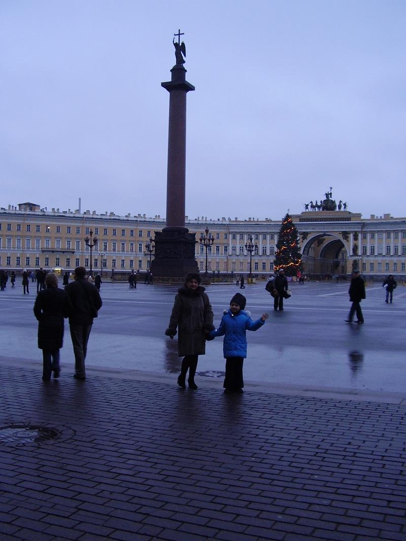 Елка на Дворцовой площади. Фотоальбом