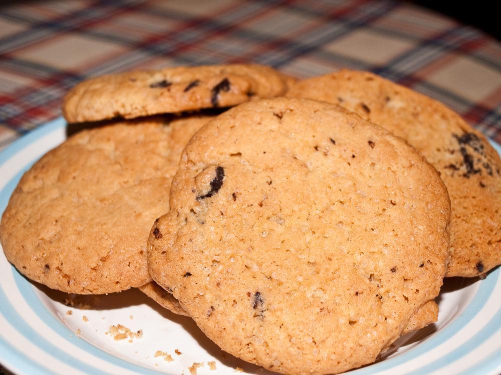 Печенье с шоколадными чипсами. Выпечка
