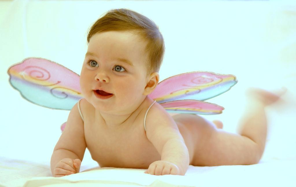 Бабочка. Дети: художественное фото