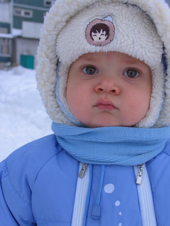 Маленький снеговик. Малыши