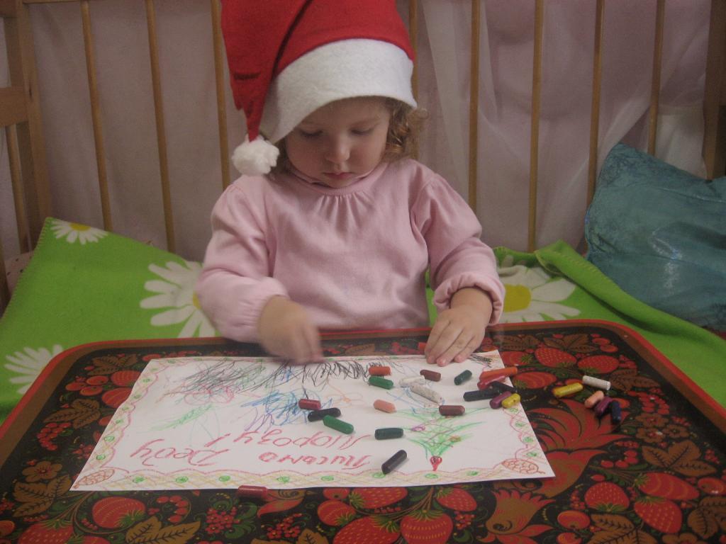 Дед Мороз, я слушалась маму в этом году.... Пишу   письмо Деду Морозу