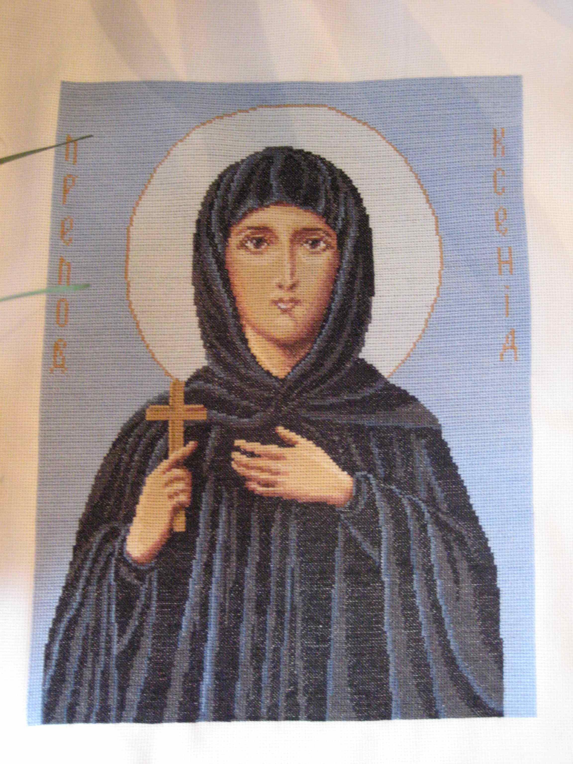 Преподобная Ксения . Иконы и библейские сюжеты