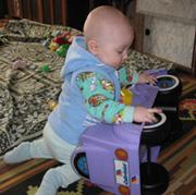 A я играю в автомобилиста!. Дошколята
