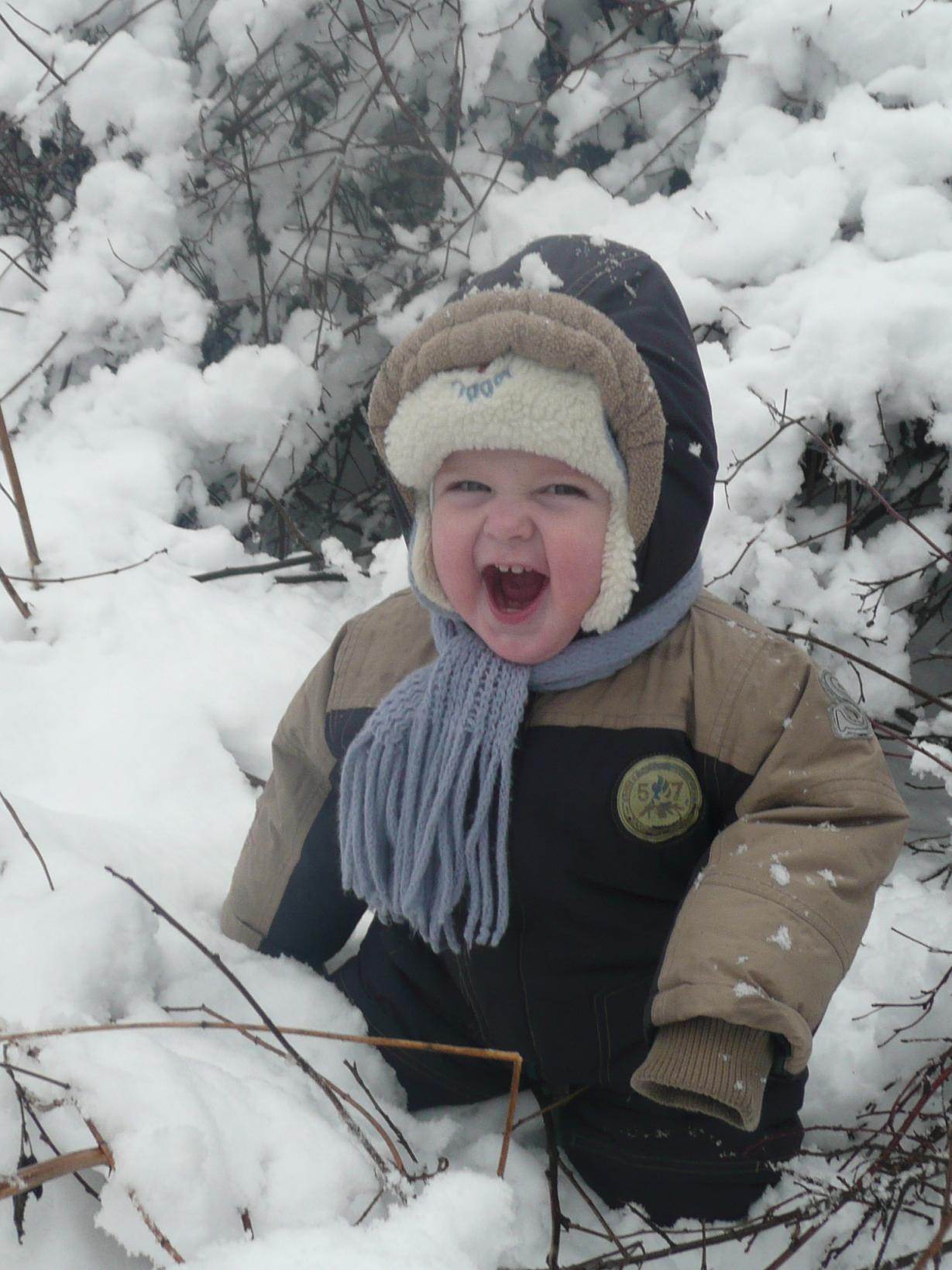 Зимнее счастье. Зимняя прогулка