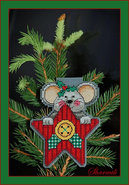 Рождественская мышка. Рождественские и новогодние мотивы