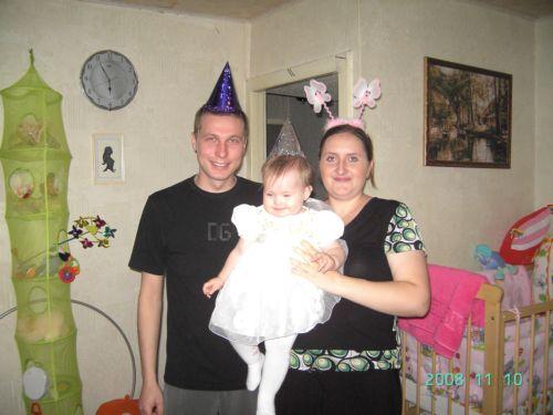 Моя семья. День рождения