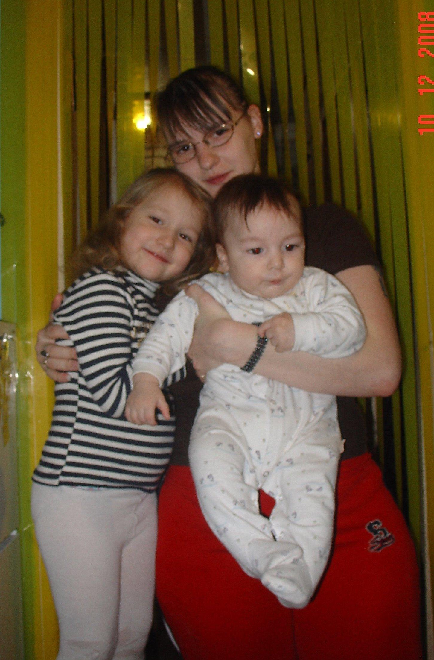 Мои детки и я . Вместе с мамой