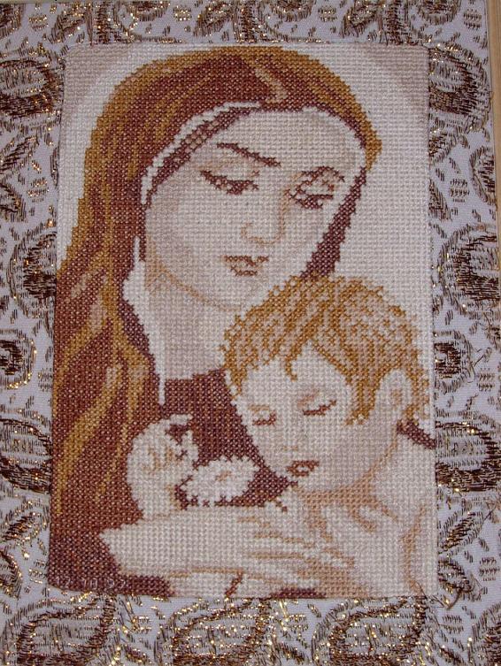 мадонна с младенцем . Иконы и библейские сюжеты