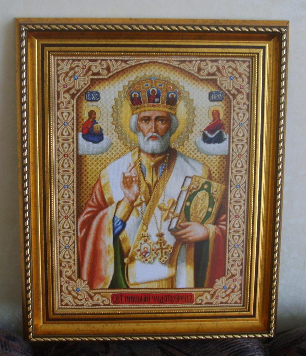 Николай Чудотворец/Стоянка Иванова/. Иконы и библейские сюжеты