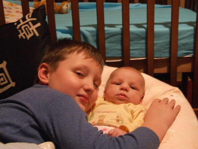 мои любимые сыночки. Братишки и сестренки