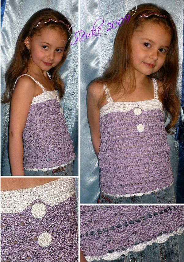Топ из онлайна на Осинке 2. Одежда для детей