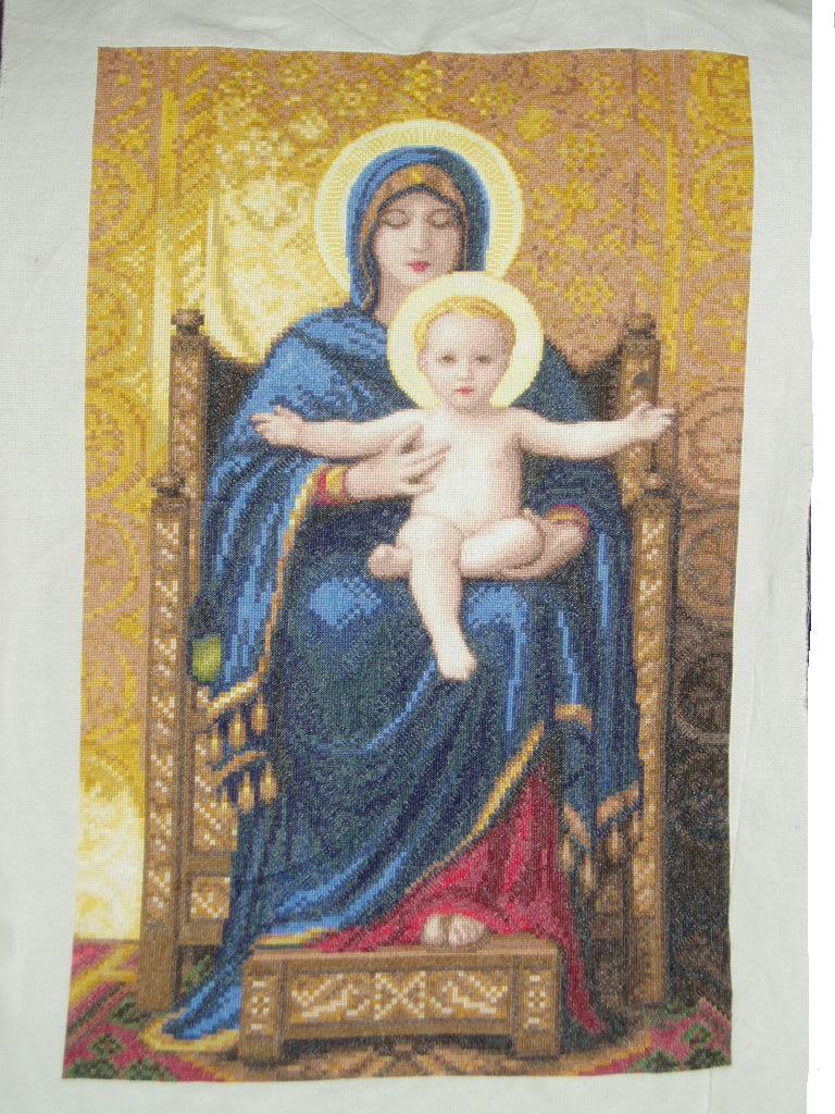 Мадонна на троне. Иконы и библейские сюжеты