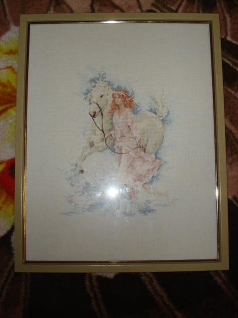 Девушка с лошадью (Lanarte). Животные