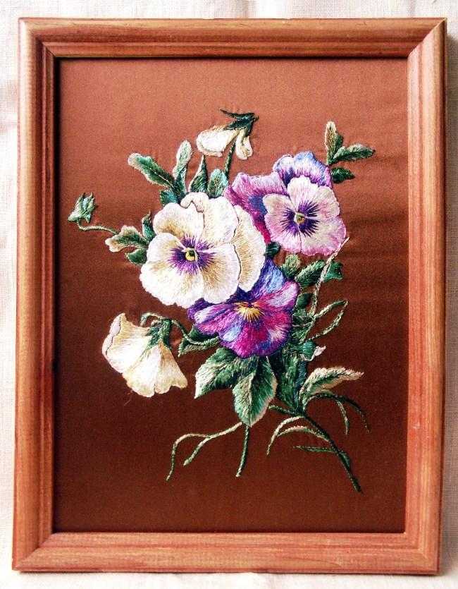 Открытка к празднику. Растения (в основном цветы)