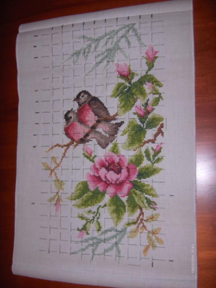 Райский сад. Весенний этюд. от Золотого руна. (Целиком).. Растения (в основном цветы)