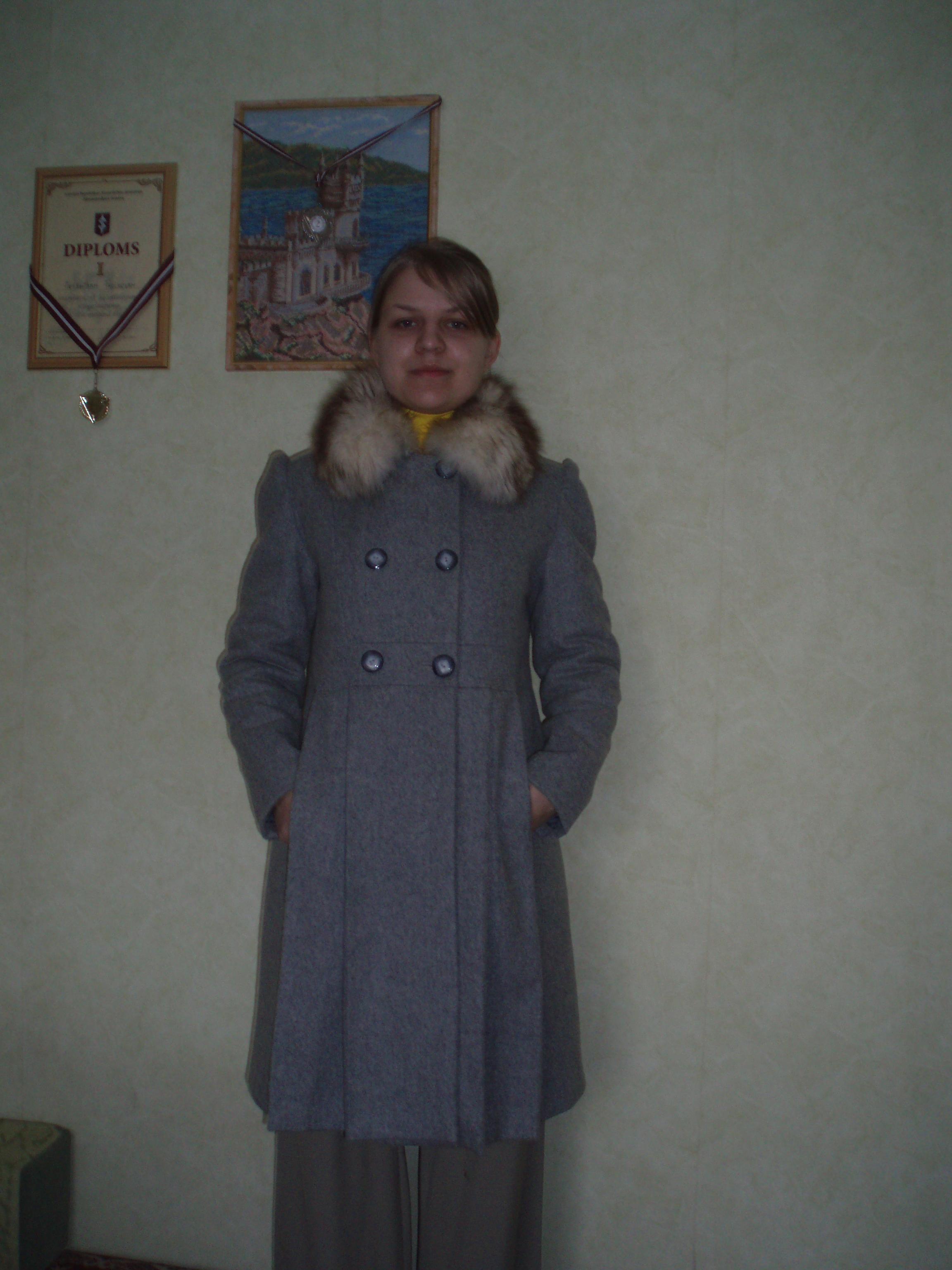 Зимнее пальто. Шитье