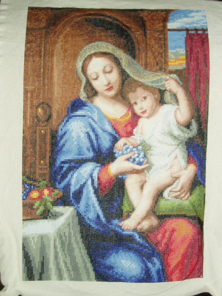 Мадонна с виноградом. Иконы и библейские сюжеты