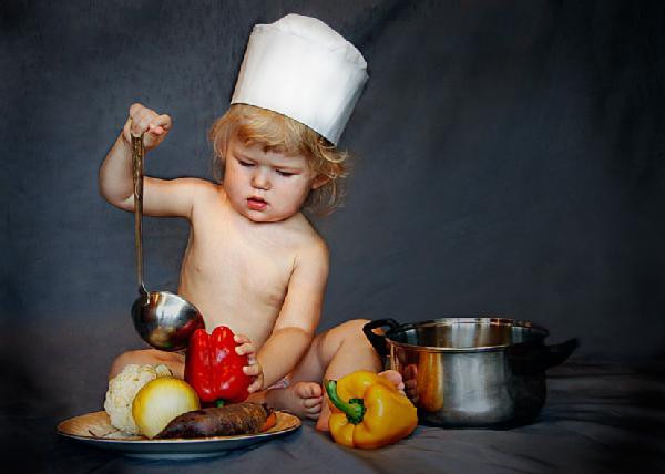 Кухарочка. Помогайка