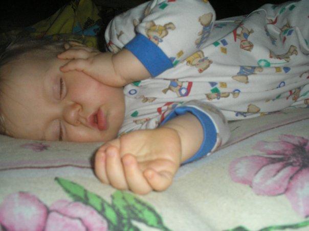 Спим сладким сном....