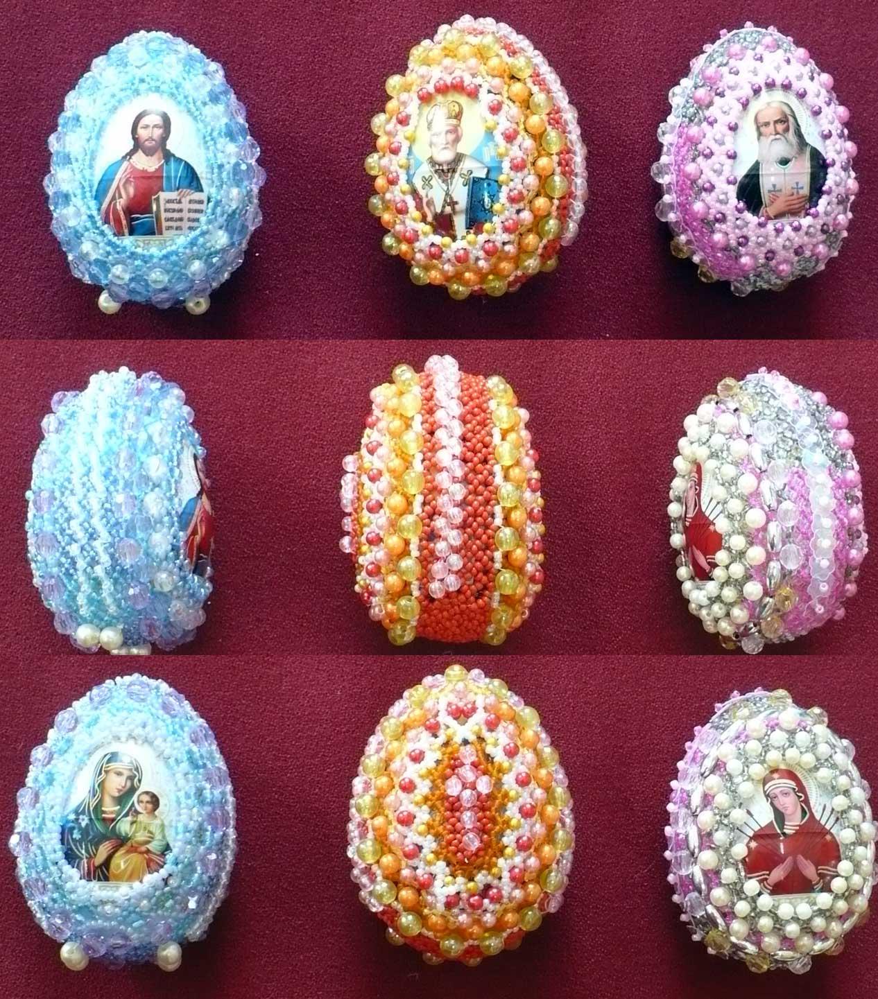 Яйца Пасхальные2. Пасхальные яйца
