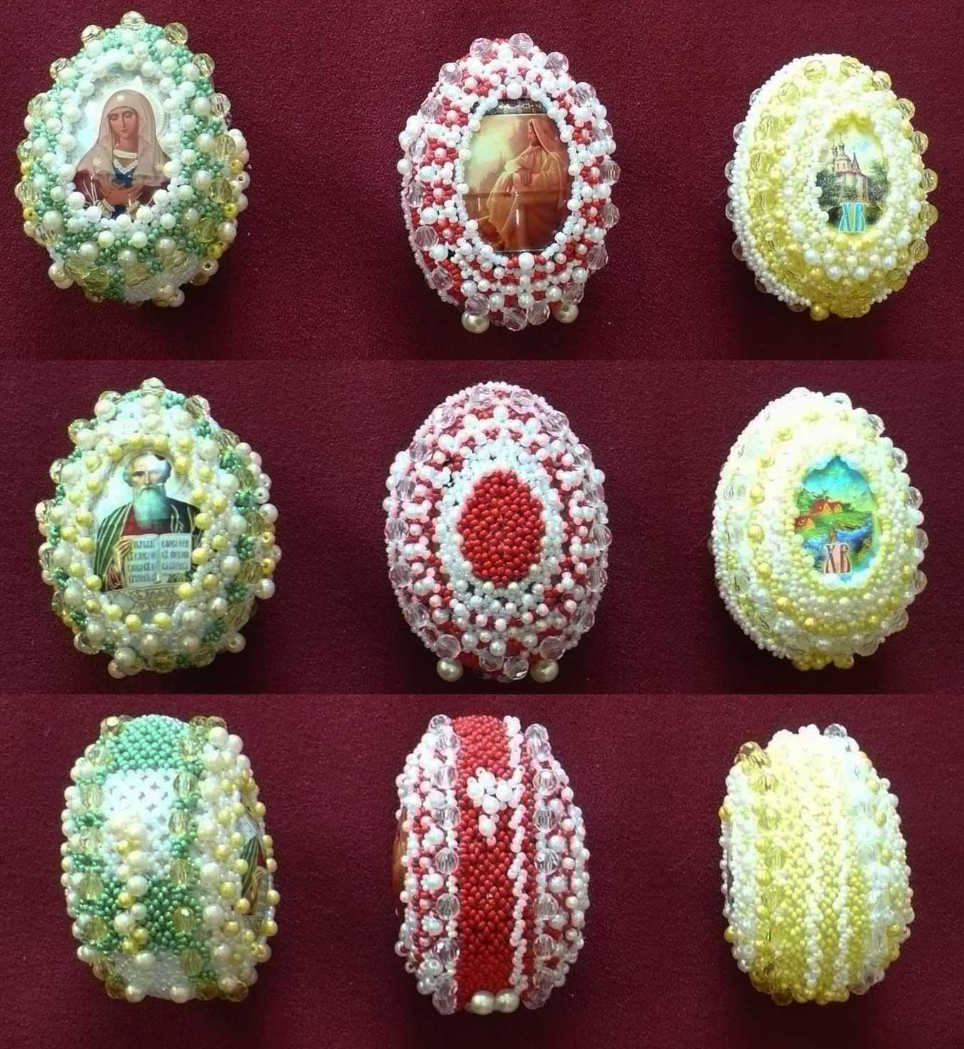 Яйца. Пасхальные яйца