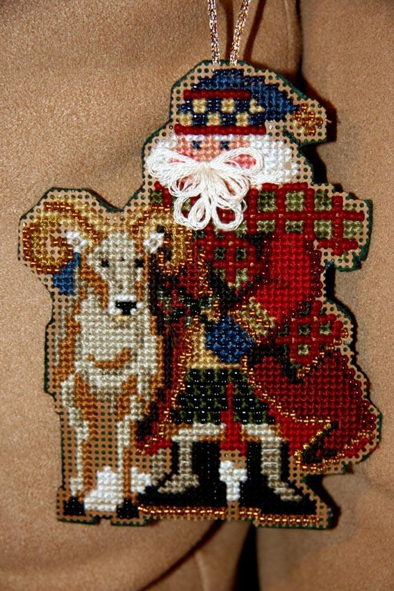 'Rocky Mountain Santas' by Mill Hill . Рождественские и новогодние мотивы