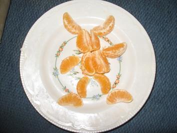 Мандариновый зайчик. Кулинарные шедевры