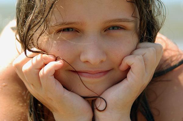 Сашка на море. Детские портреты