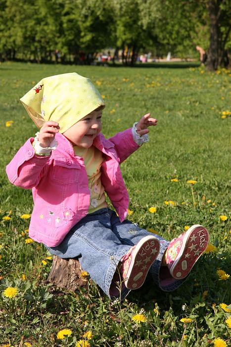 Одуванчиковая весна. Весенние деньки