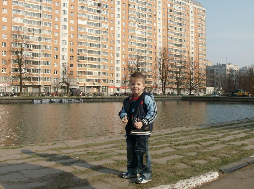 Артемка в Москве. Городские пейзажи