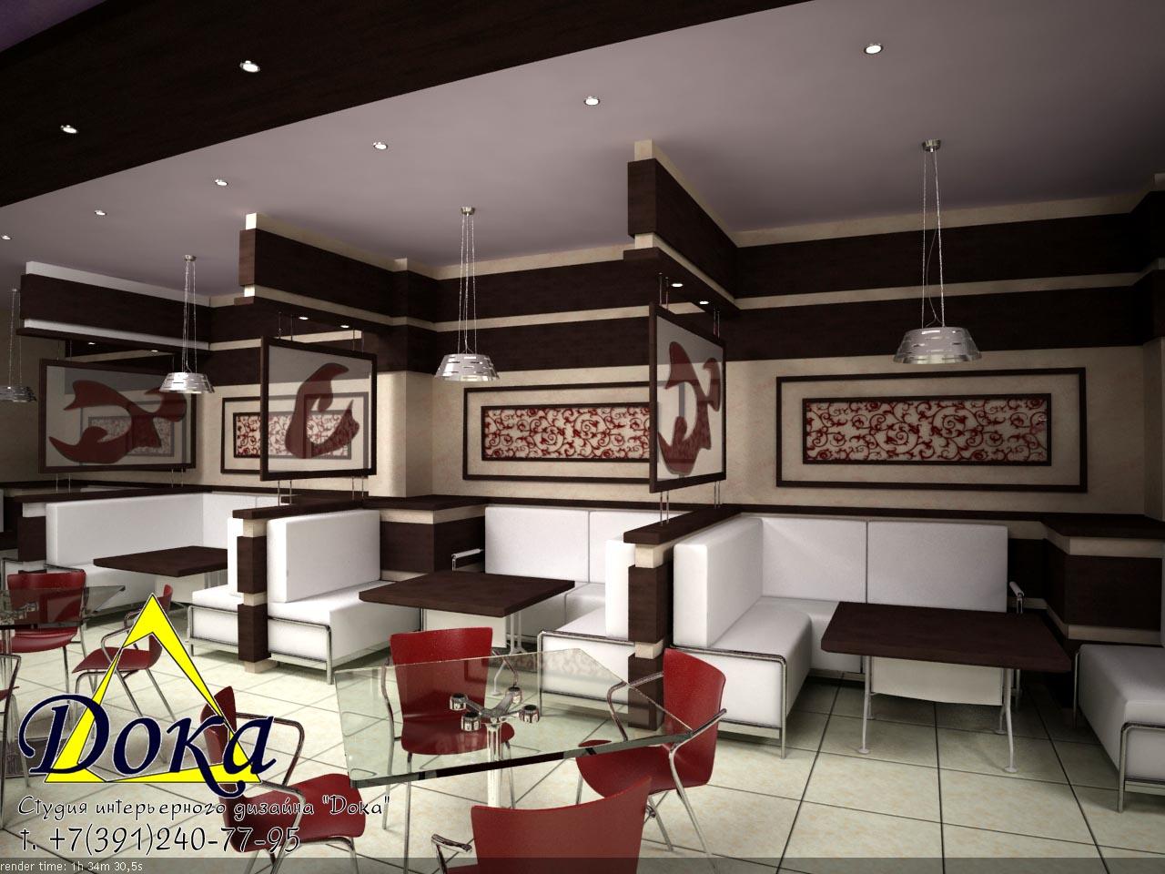 Дизайн-проект ресторана. Наши интерьеры