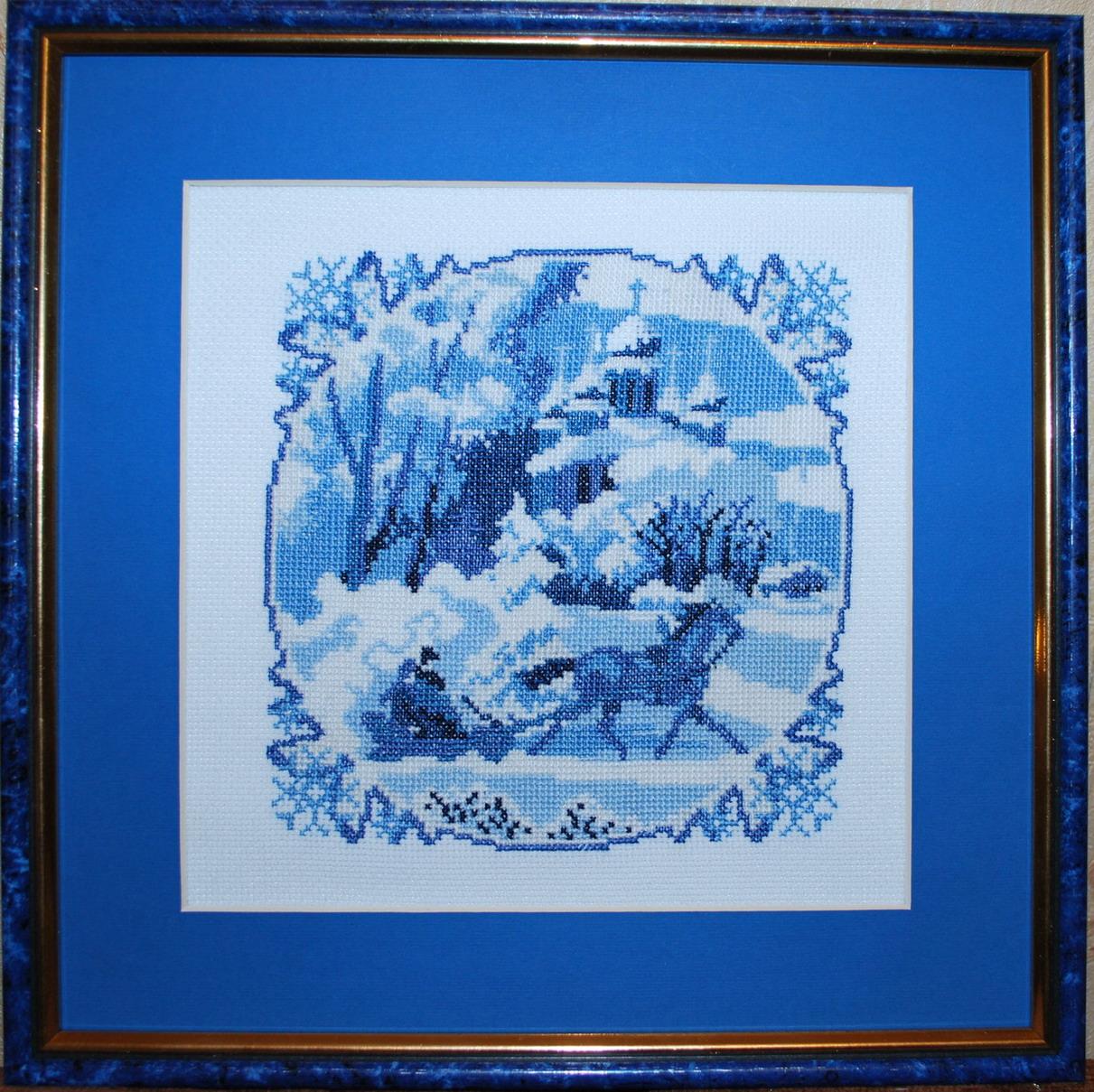 Золотое руно серия Голубые сны. Пейзажи