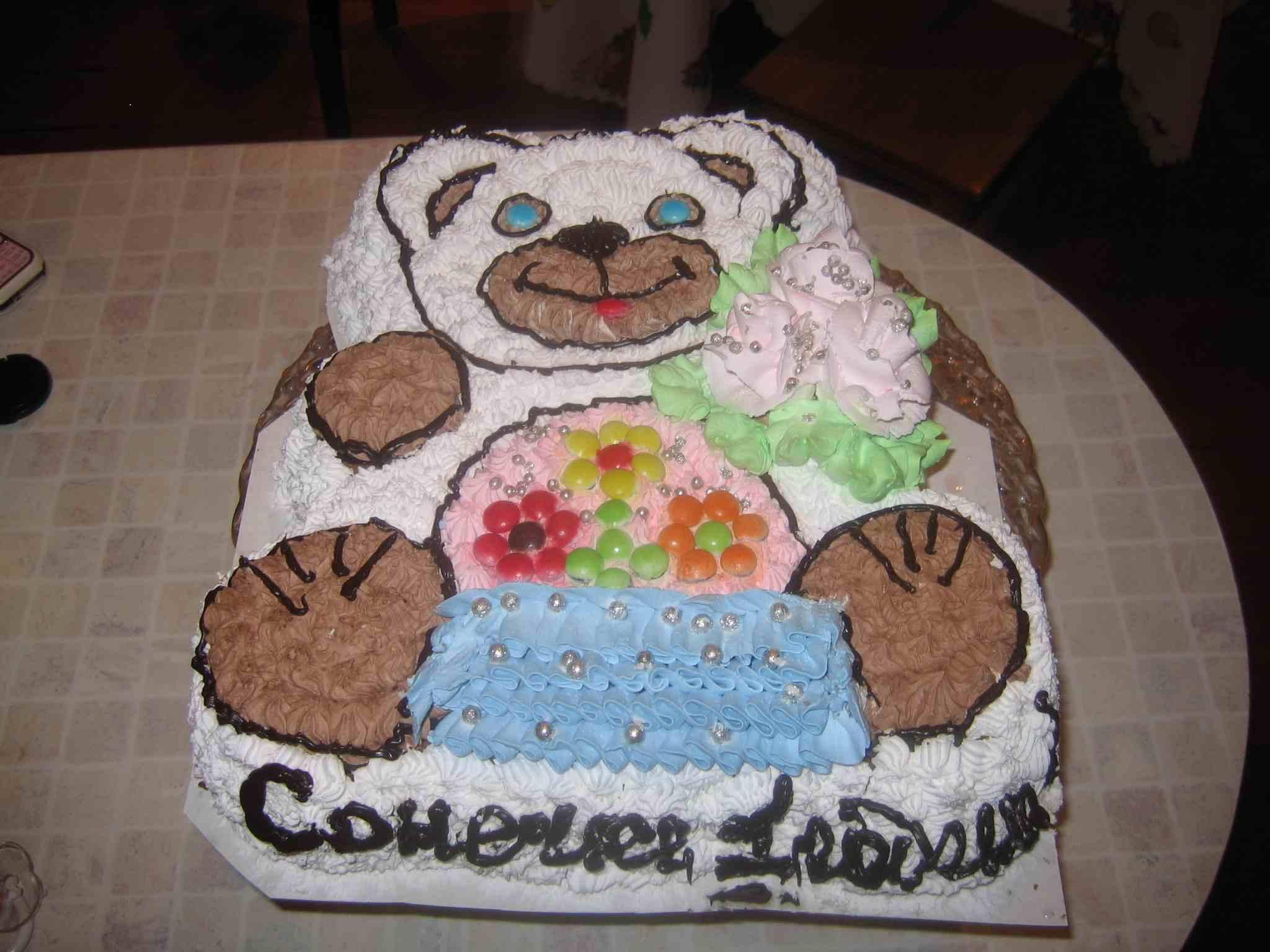 Торт 'Мишутка'. Кулинарные шедевры