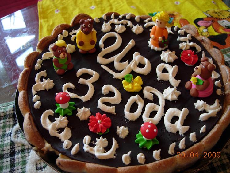 тортик 'Ира и три медведя' к дню рождения дочи. Кулинарные шедевры