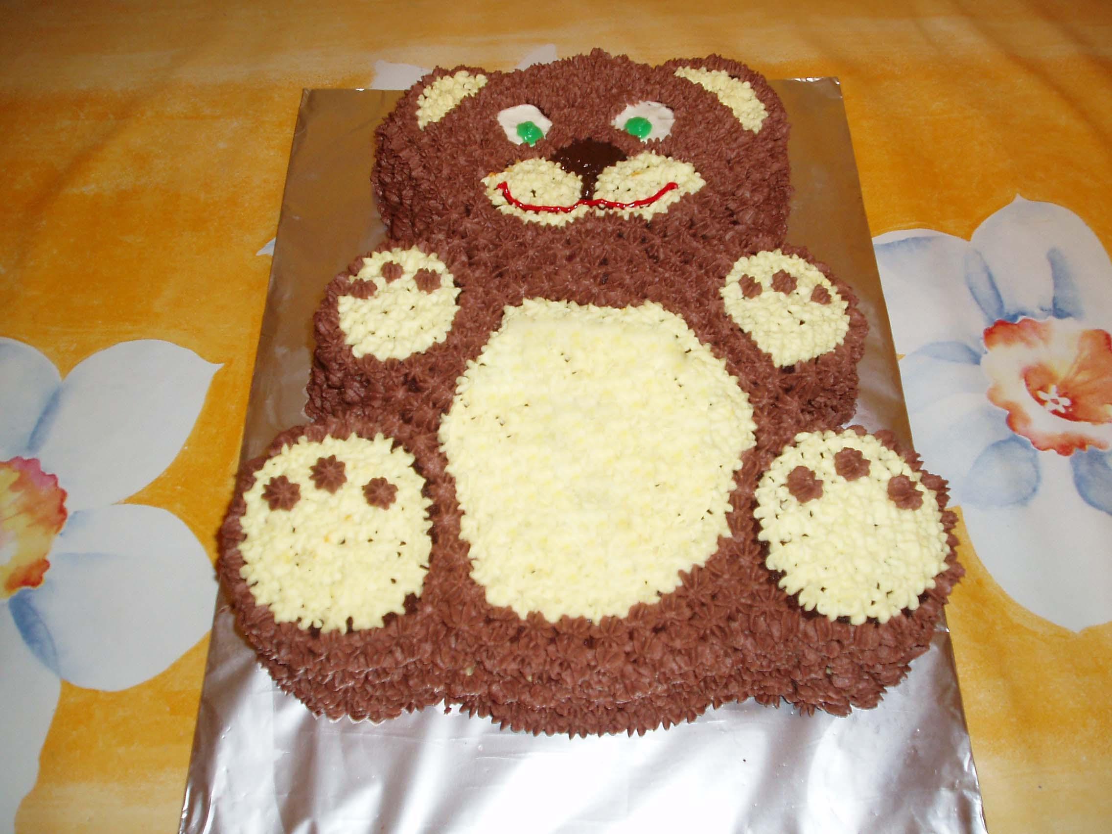 Торт Медвежонок. Кулинария: торты и пирожные